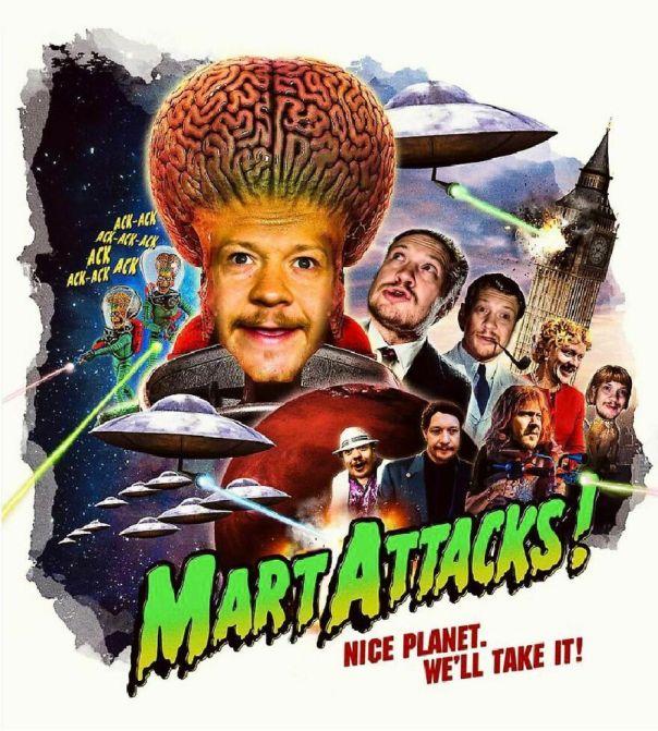 Mart Attacks!