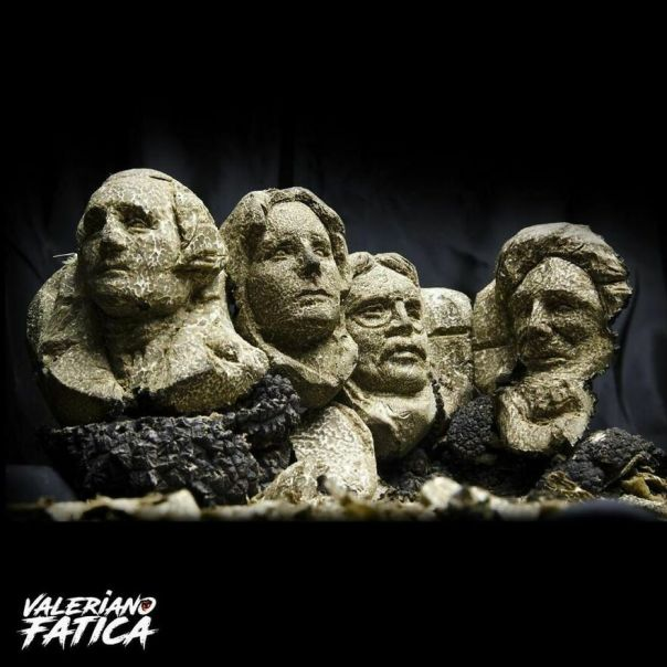 The Mount Rushmore, 1,5 Kg Truffle Carving