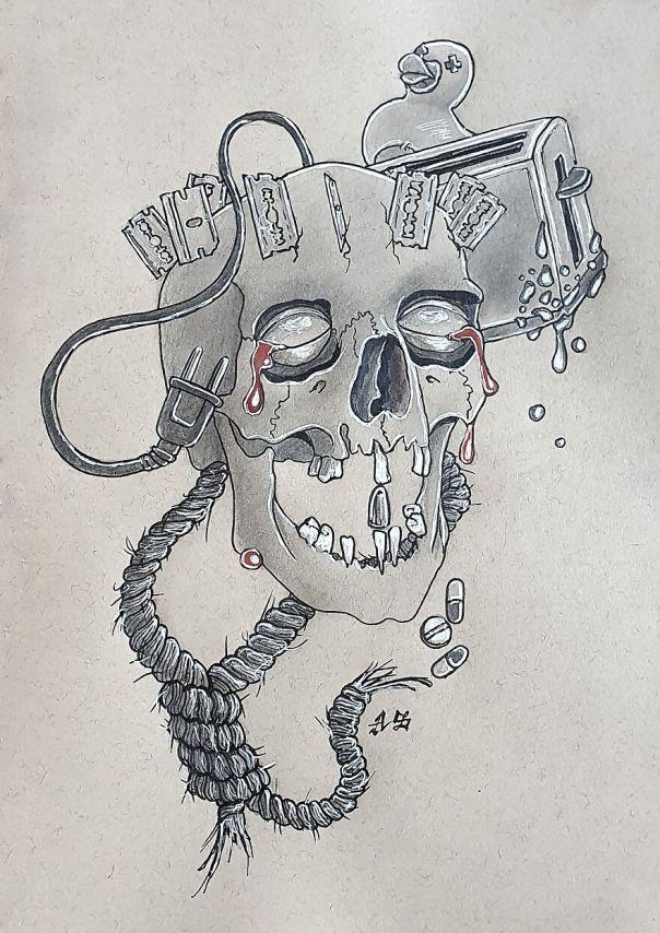 Diskonekted (With A Crown Of Razor Blades...)