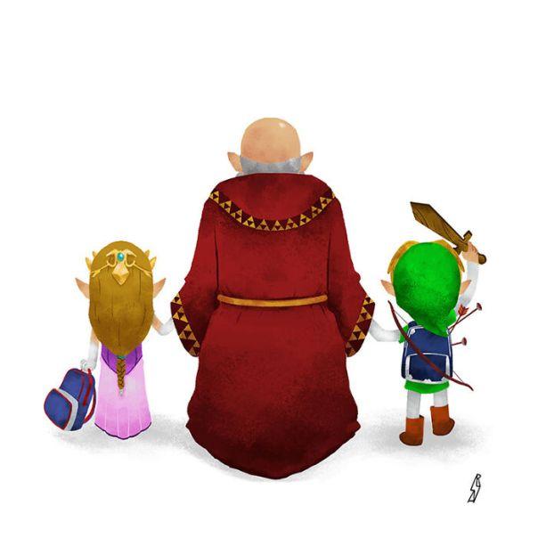 Legend Of Zelda (Hyrule Family)