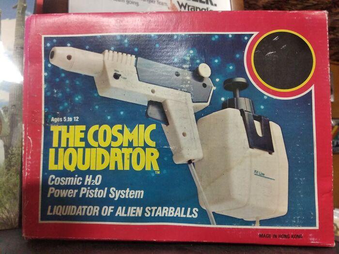 The Cosmic Liquidator, I'm Still Sad I Had To Leave It To The Shop.