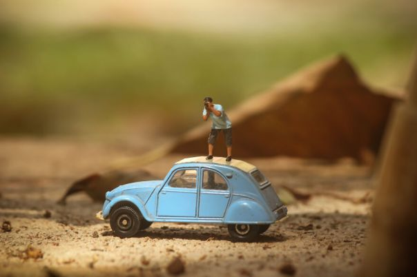 I Joined A Miniature Photographer In His Adventure
