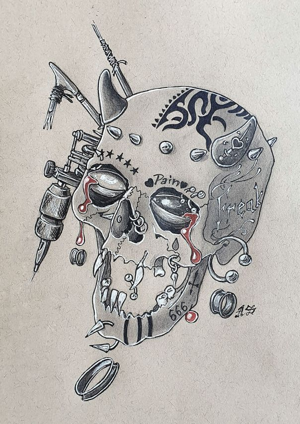 Modify (Body Mods, Tattoos, Implants, Piercings And More With A Crown Of Studs. Let Me Know Do You Have Any Of Them In The Comments! I Only Have 1 Tattoo And My Ear Is Pierced But I Do Tattoos Myself!)