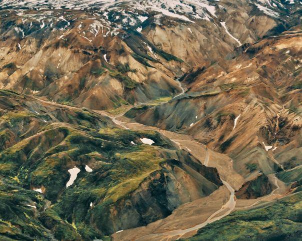 Landmannalaugar From Airplane