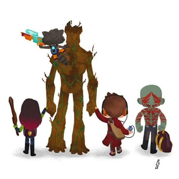 Guardians Of The Galaxy (Guardians Family)