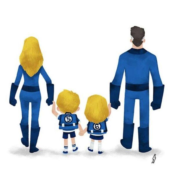 Fantastic 4 (Fantastic Family)