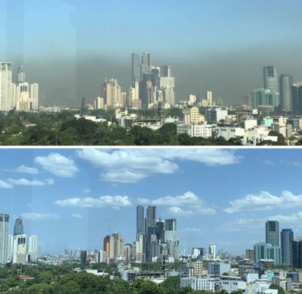 Capital Of The Philippines Before And After The Quarantine