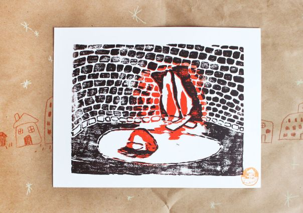 Fireside Print