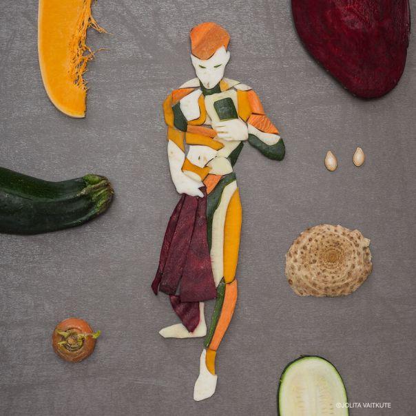 Butter Pumpkin/Beetroot/Carrot/ Zucchini/White Beets