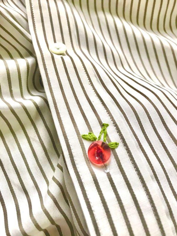 Lost A Button, Found A Cherry
