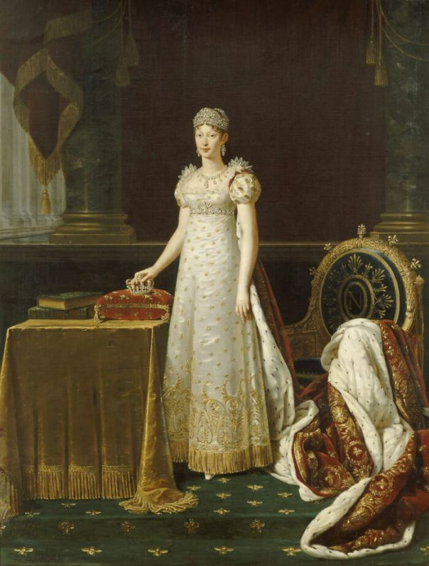 Marie-Louise Of Austria, Empress Of The French (1791-1847) By Lefèvre, Robert (1812 - 1814)
