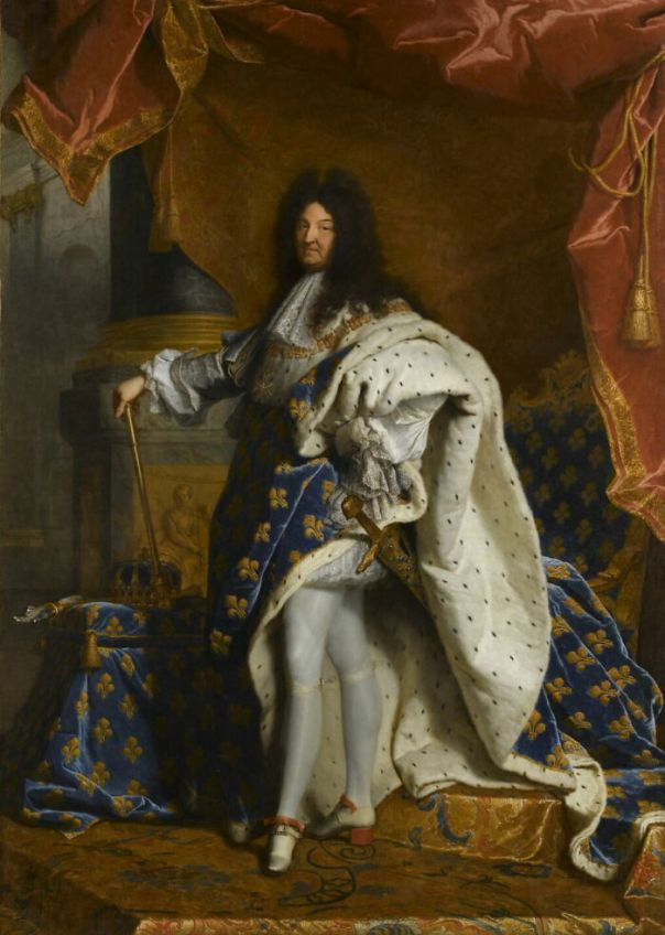Louis Xiv (1638-1715) By Rigaud, Hyacinthe (1701)