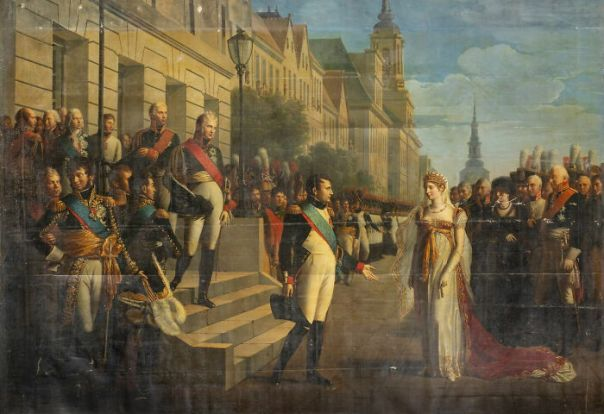 Interview Of Napoleon I And Queen Louise Of Prussia In Tilsitt, July 6, 1807 By Berthon, René Théodore (1810)