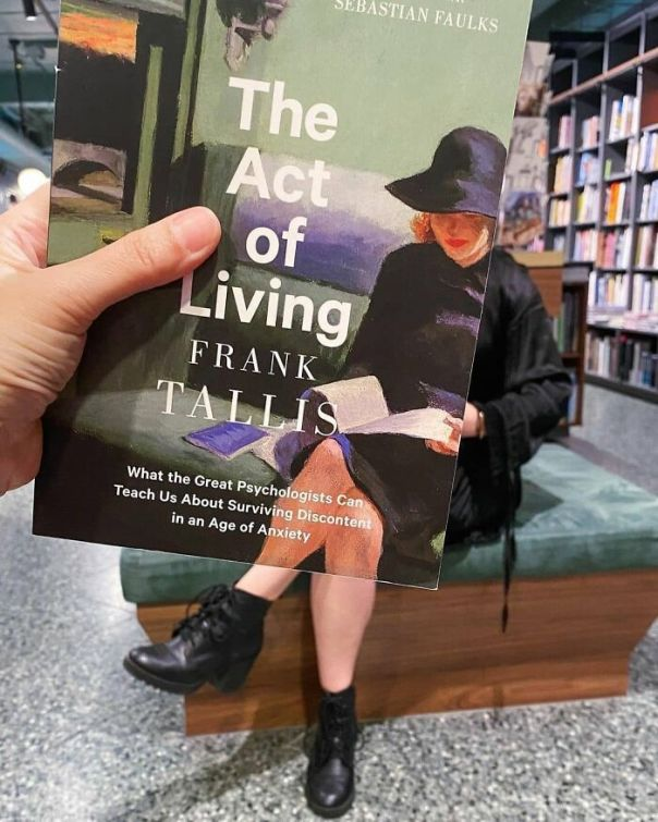 Reposted From @readingsbooks This Week's #bookfacefriday Is The Act Of Living By Frank Tallis. An Exploration Of The History Of Psychotherapy, This Book Hopes To Guide Readers Towards Living Happier And More Fulfilled Lives. #bookface #readingsbooks #shoplocal #independentbookshop #theactofliving #stonnington #stonningtonresidents #cityofstonnington