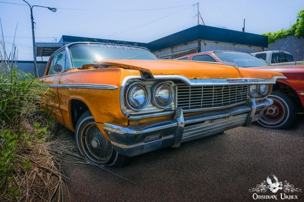The Chevrolet Impala Ss Looks Like It Would Still Run If The Owner Ever Returns