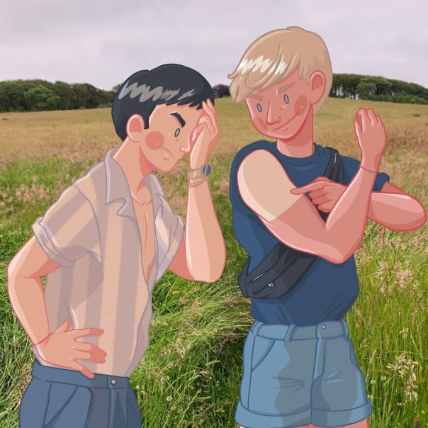 Day 76: When He Is Proud Of His Farmer's Tan