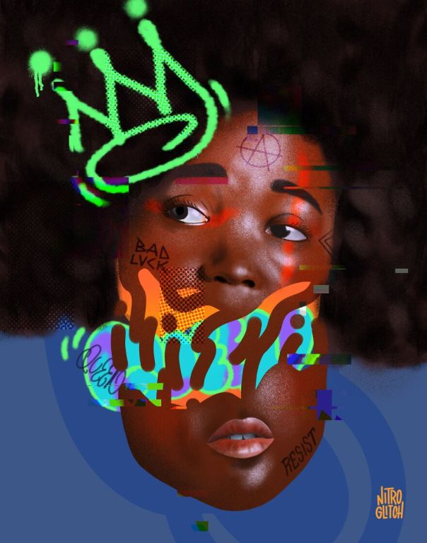 My Digital Mixed Media Portraits