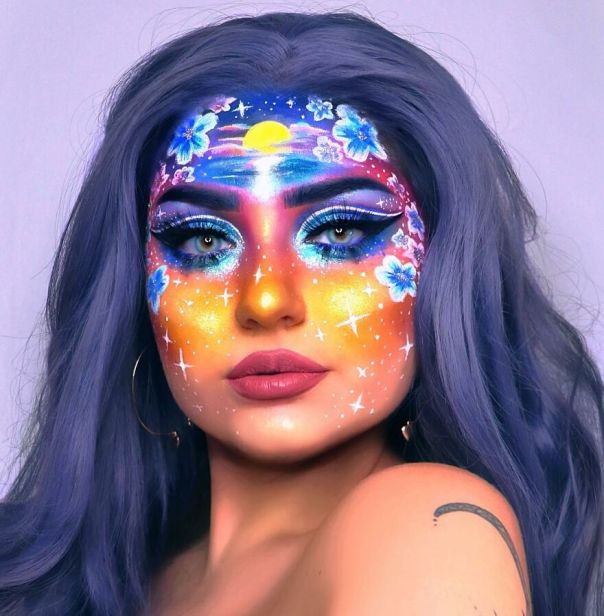 My Face Is My Canvas