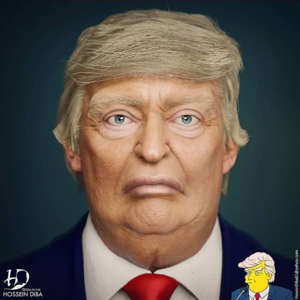 Donald Trump From The Simpsons