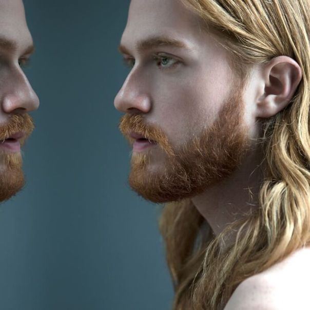 This Photographer Does A Photoshoot With Men Who Are Not Afraid To Expose Their Feminine Side