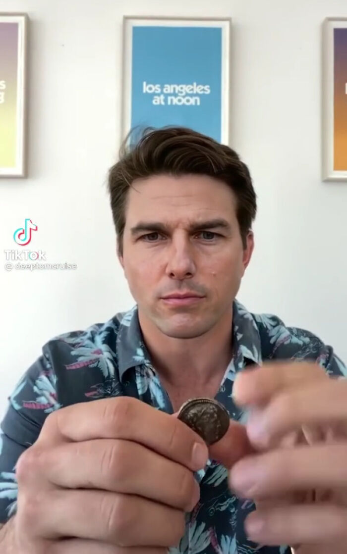 TikTok account shows fake Tom Cruise videos and its impossible not to say its real 603f573492edd png  700 - Deep Fake do Tom Cruise é a prova que no futuro você terá que provar que é você