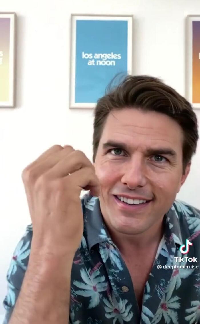 TikTok account shows fake Tom Cruise videos and its impossible not to say its real 603f573c8c390 png  700 - Deep Fake do Tom Cruise é a prova que no futuro você terá que provar que é você