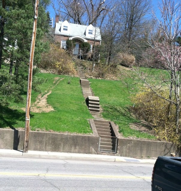 These Are Stairs In My Town. Just How?