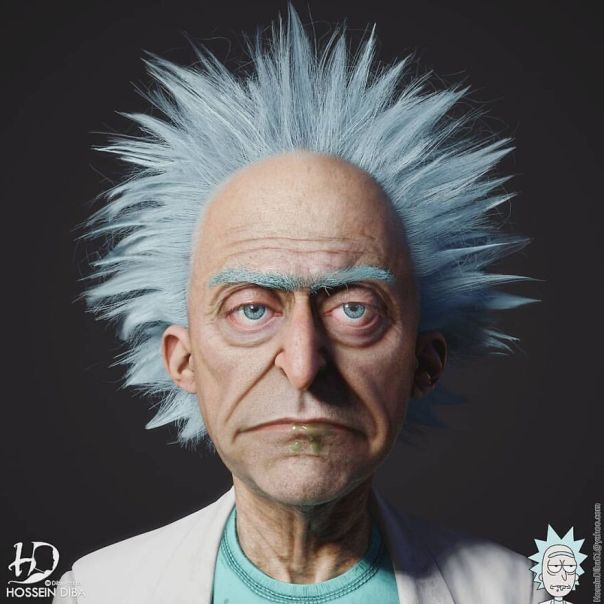 Rick Sanchez From Rick And Morty