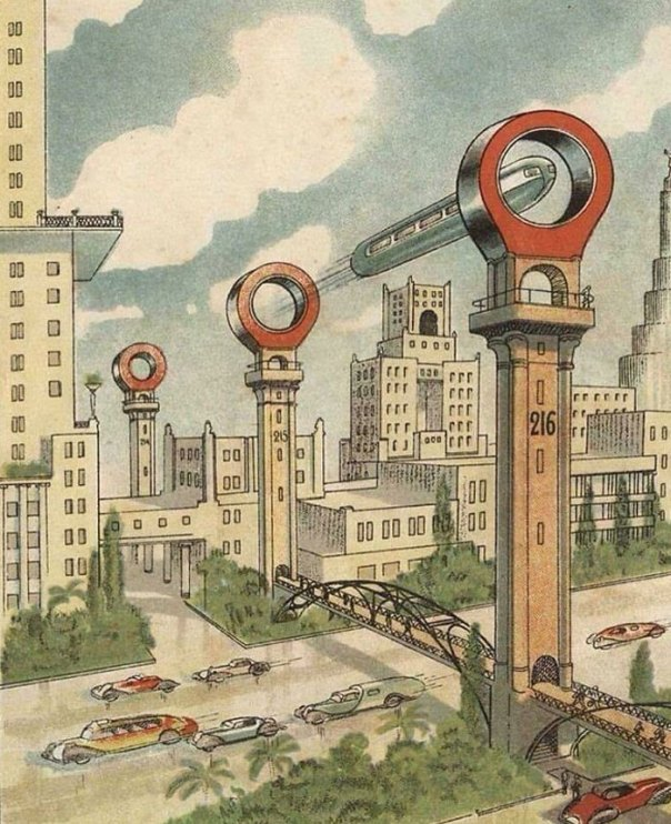 Soviet Vision Of The Future In The 1930s