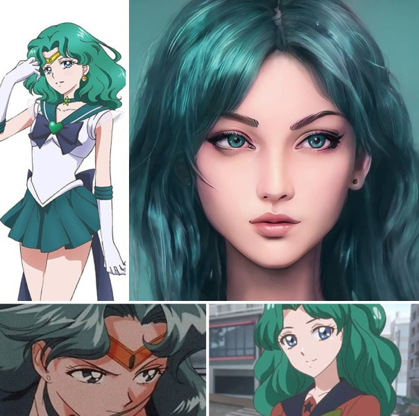 Neptune From Sailor Moon