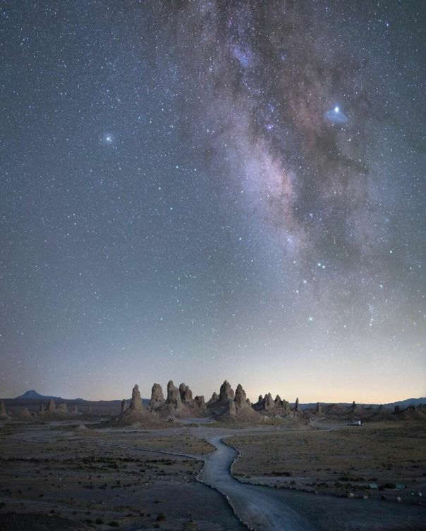 Trona Pinnacles, California, USA