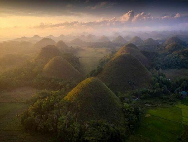 Choccy Hills, Bohol, Philippines