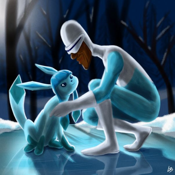 Frozone And Glaceon
