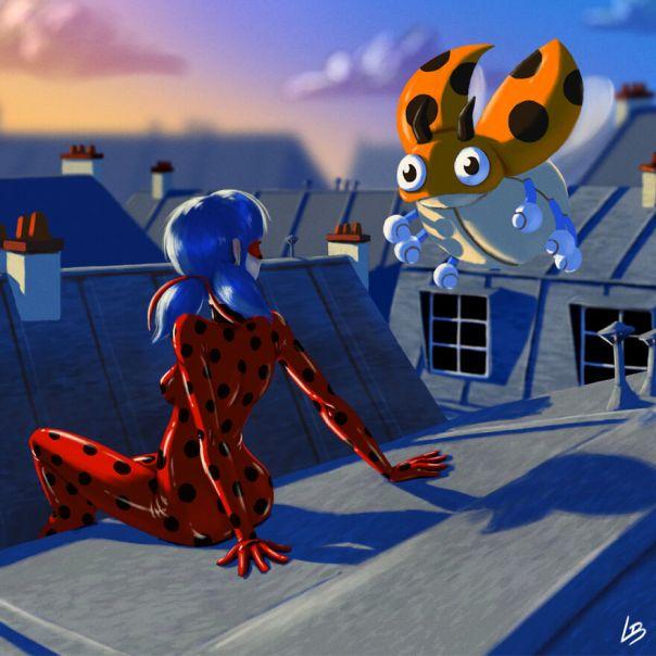 Ladybug And Ledyba