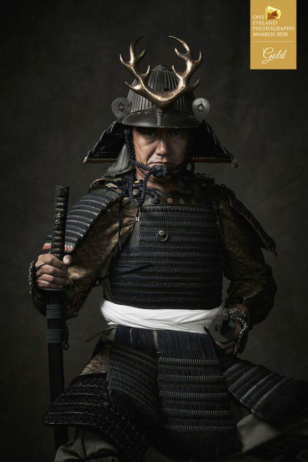 Descendants Of Samurai By Ryotaro Horiuchi. Gold In Fine Art