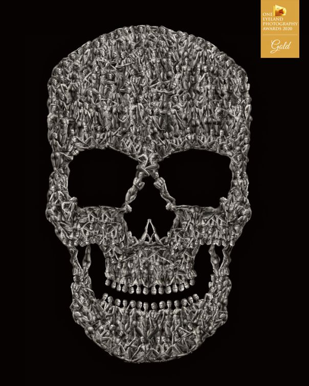 Memento Mori By Ivan Duran. Gold In Fine Art