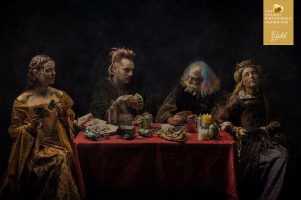 Heirs Of Ragnar By Jorge Alvarino. Gold In Fine Art