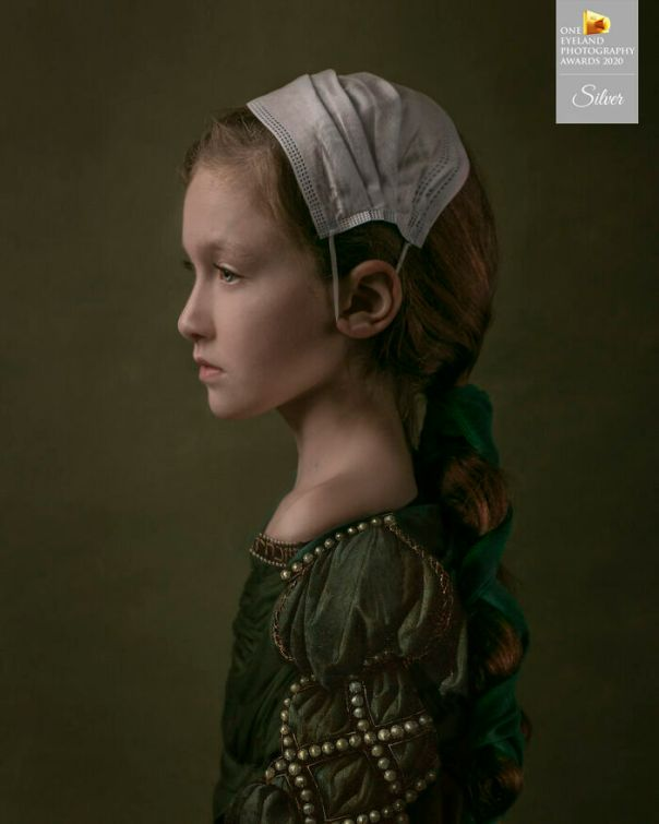 The Girl Of 2020 By Kaat Stieber. Silver In Fine Art