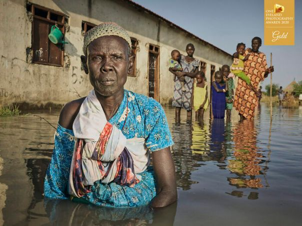 Unyielding Floods By Peter Caton. Gold In Editorial