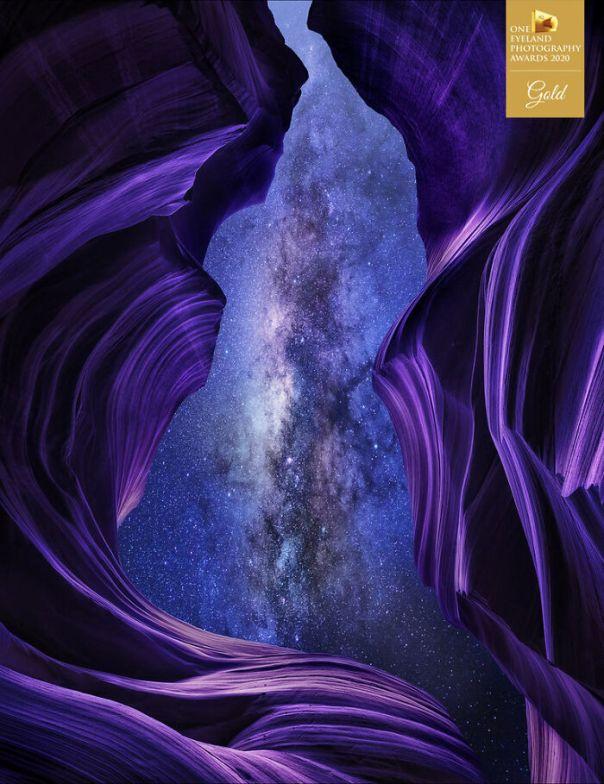 The Velvet Abyss By Alexander Vershinin. Gold In Fine Art