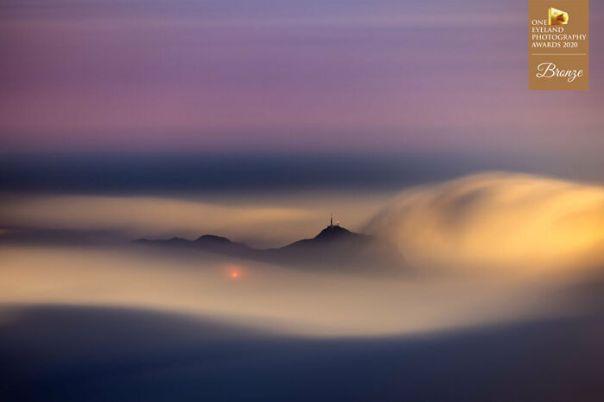 Submarine In The Sea Of Clouds By Carlo Yuen. Bronze In Fine Art
