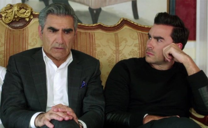 Eugene Levy And Dan Levy Played Father And Son On Schitt's Creek (2015-2020)