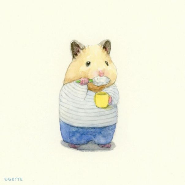 This Adorable Hamster Lives A Human Existence (New Pics)