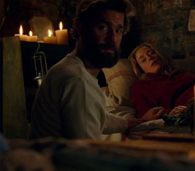 Spouses Emily Blunt And John Krasinski Played Husband And Wife In A Quiet Place (2018)