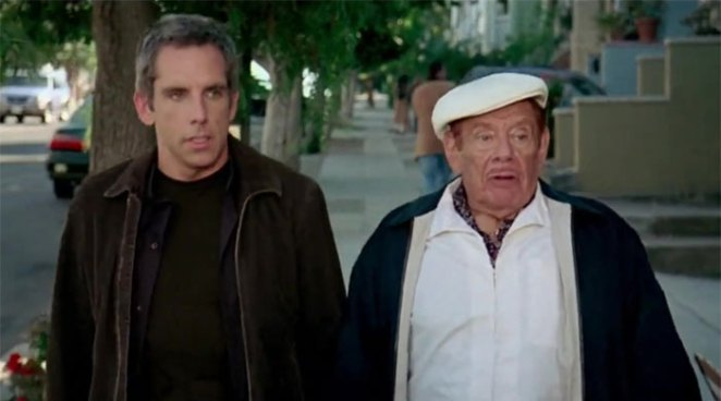 Ben Stiller And His Dad, Jerry, Played Father And Son, Eddie And Doc Cantrow, In The Heartbreak Kid (2007)