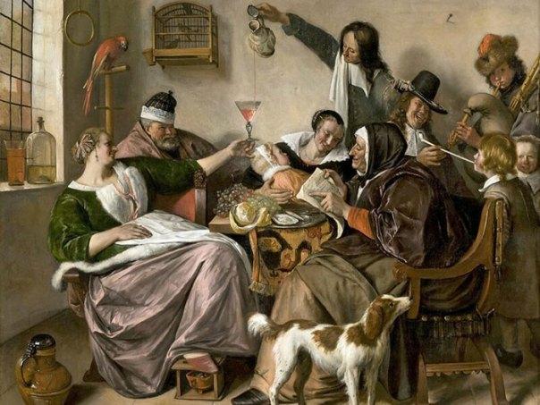 """If It's Got A Happy Presence, It's A Dutch Genre Painting"""