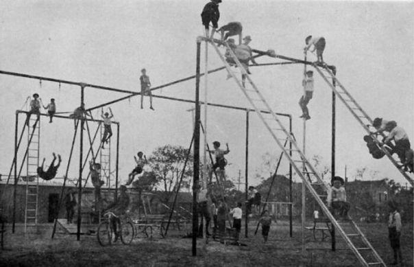 Children's Playground In 1912