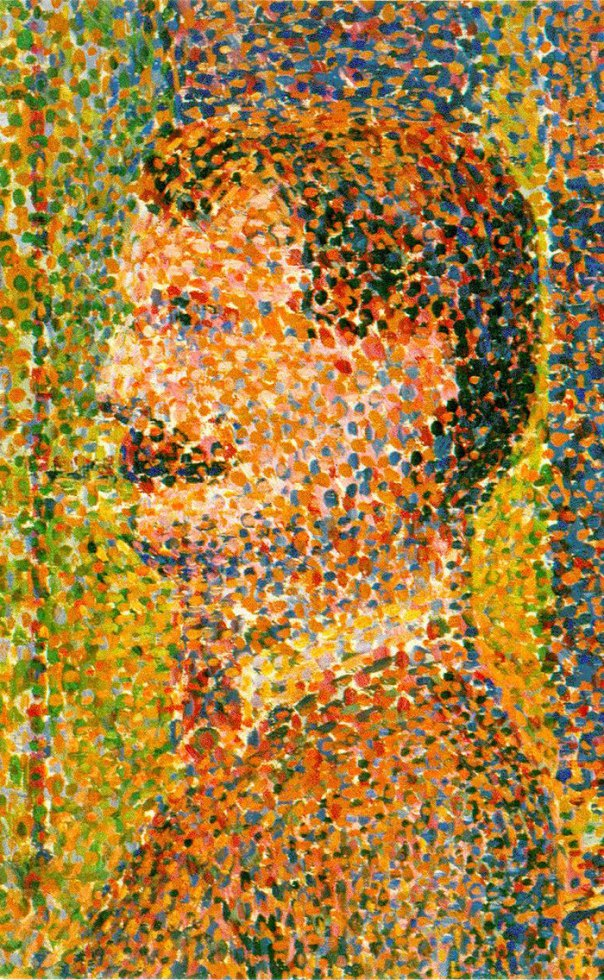 """""""If It Looks Like A Low Res Jpeg Blown Up Its Pointillism"""""""