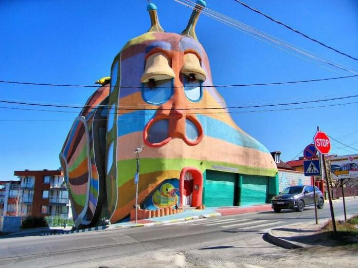 """The """"Snail House"""" In Bulgaria Actually Does Look Like A Snail"""