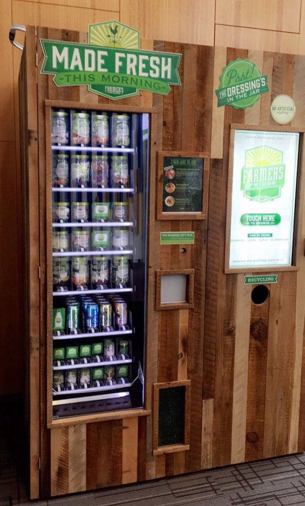My Doctor's Office Has A Salad Vending Machine
